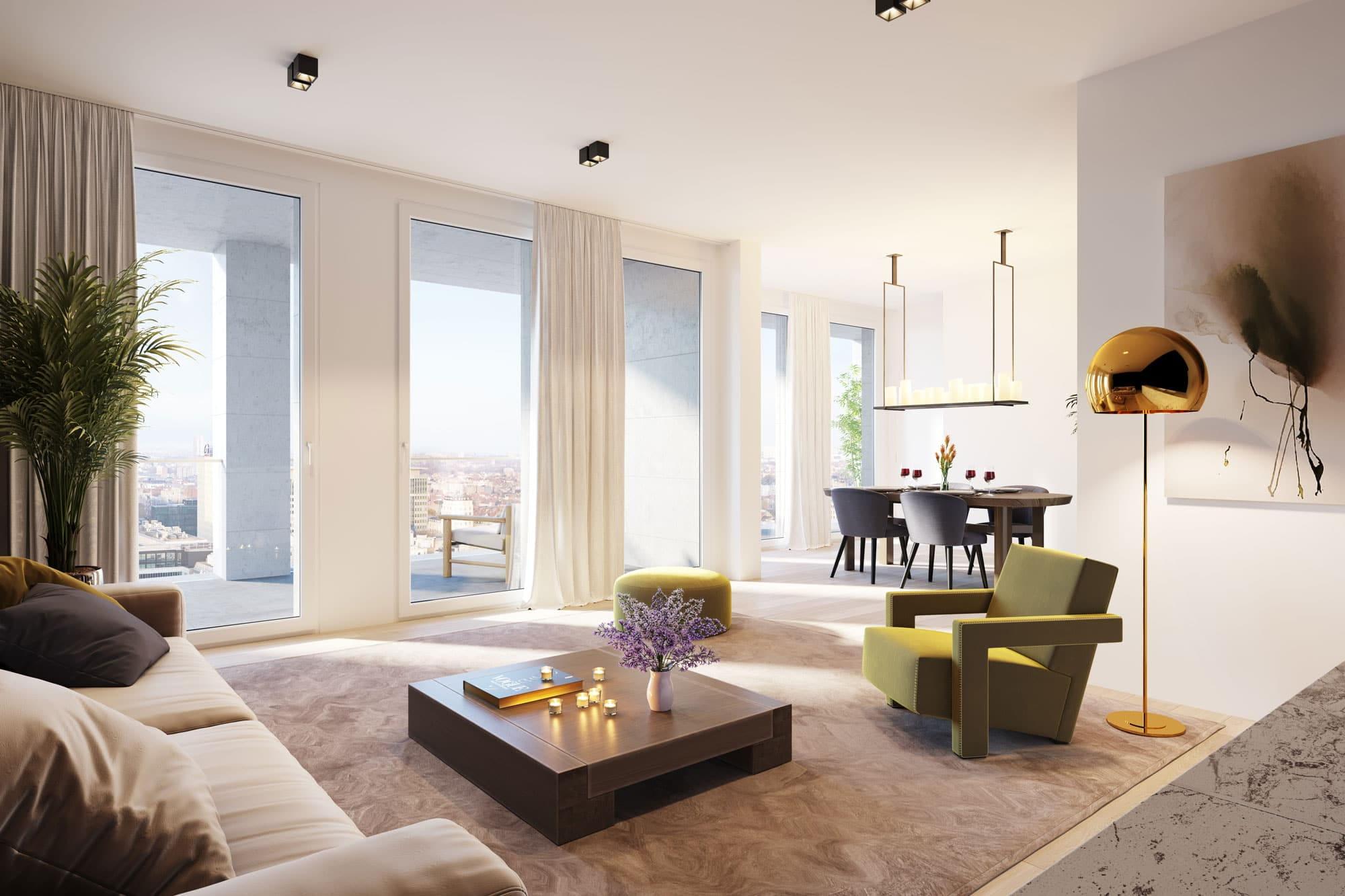 Investeer in Brussels vastgoed met internationale allure